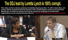 DOJ and Loretta Lynch are puppets for Obama - Conceal & Carry Network Forum
