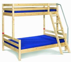 Mainstay Full Twin On Top Bunk Beds