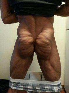 That muscle ass.