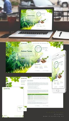 Zielone tarasy on Behance Web Design, Home And Garden, Behance, Website, Design Web, Website Designs, Site Design