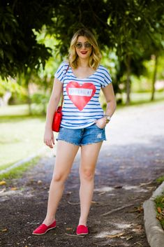 Look do dia: azul e branco — Niina Secrets