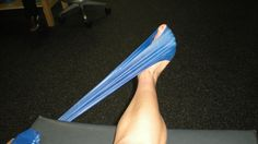 Need to increase ankle strength