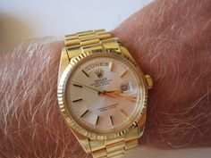 Rolex Day-Date. Sold - and what a regret.