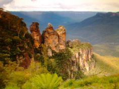 Great Blue Mountains Area,Australy-UNESCO World Heritage Site from 2000.