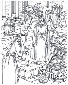 King Solomon Bible Crafts United Kingdom Coloring Sheets Ss Colouring England Uk Pages