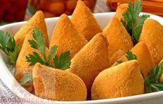 Бразильские куриные пирожки – coxinhas de frango