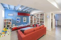 How to Finish Your Basement and Basement Remodeling Finishing your basement can almost double the square foot living space of your home. A finished basement can include new living space such as a r… Basement Ceiling Options, Basement Walls, Basement Bedrooms, Basement Flooring, Ceiling Ideas, Basement Ideas, Basement Designs, Basement Bathroom, Basement Layout