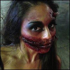 Zombie Living Dead Girl - Halloween FX Makeup   Halloween/Fall ...