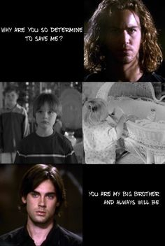 Whether I like it or not, you are my big brother and always will be. Charmed Fanfiction: In His Soul Little Boy Quotes, Brother Sister Quotes, Brother Birthday Quotes, Abc Shows, Best Tv Shows, Favorite Tv Shows, Serie Charmed, Charmed Tv Show, Charmed Quotes