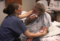 Stroke Help. Upper Extremity Weight Bearing During Bedside ADLs.  Pinned by SOS Inc. Resources http://pinterest.com/sostherapy.