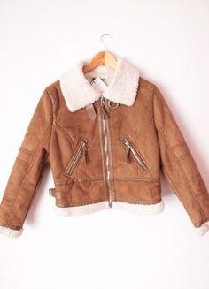 Kup mój przedmiot na #vintedpl http://www.vinted.pl/damska-odziez/kurtki/12094732-kurtka-pilotka-kozuszek-kozuch-bershka-nowa-ocieplana-m