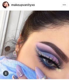 Pretty Eye Makeup Look