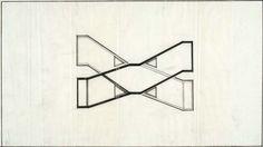 IP 1, Instabilisateur pendulaire, 1968  Plan  Dessin  Encre sur calque  30.5 x 53.5 cm  Donation Claude Parent