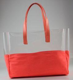59 Ideas diy fashion bags tuto sac for 2020 Diy Tote Bag, Beach Tote Bags, Diy Bags, Diy Fashion Bags, Transparent Bag, Diy Handbag, Denim Bag, Girls Bags, Summer Bags