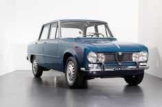 Opportunities to acquire examples as original as this are incredibly rare, made even more special by this car being painted in arguably the best colour – 'Bluette'.  As the launch model, the Giulia 1600 TI represented the start of Alfa's journey with the incredibly successful 105 series at the then state-of-the-art Arese plant.  This exceptional … Alfa Romeo Giulia, Cars And Motorcycles, Cars For Sale, Opportunity, The Past, Product Launch, The Originals, Collection, Kicks