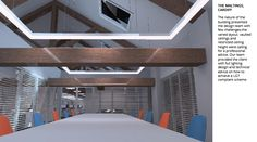Render for the article: Benefits of DIALux Evo 7 update for lighting designers