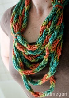radmegan: in words and pictures: Viking Crafts: A Lucetted Necklace/Scarf
