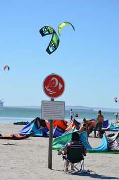 """Possibly a """"kite surfing mom"""" in the waiting - and what better place than in the shade? Langebaan lagoon - Langebaan - West Coast - South Africa. #kitesurfing #Langebaan #langebaanlagoon"""