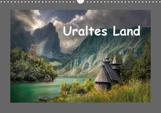 Uraltes Land - CALVENDO Pinterest Instagram, Alter, Landing, Digital Art, Fantasy, Mountains, Nature, Travel, Products