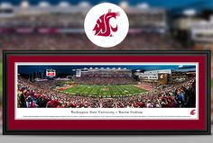 Washington State University Cougars Panoramic Pictures & Posters