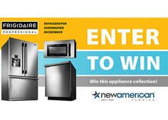 Enter to Win a Frigidaire Kitchen Appliance Collection!