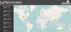 Crowdsourced Crisis Map of UAV/Aerial Videos for DisasterResponse