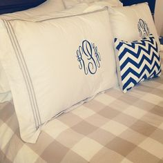 Southern Charm-- one monogram for yourself and one for your husband