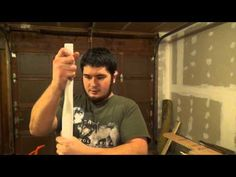 Building the 45 Pound Faux Bloodwood PVC Bow Part 1 - Shaping the Bow - YouTube