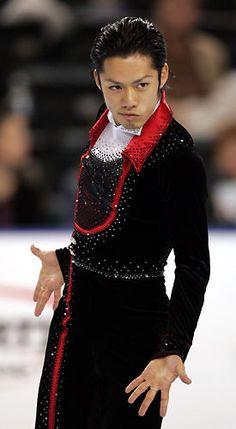 figure skating world champion Daisuke Takahashi by lynn.yama, via Flickr