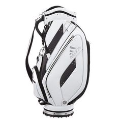 adidas Golf Men s High Caddie Bag TalyorMade Club Bag Backpack White A10201   adidas  Modern 18a27fe5a79ce