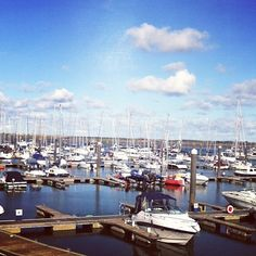 The marina in the north Dublin suburb of Malahide #dublin #marinas