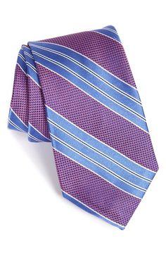 Nordstrom 'Simple' Stripe Silk Tie