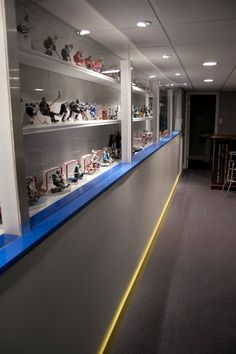 Hockey Haven: The do it yourself basement remodel Man Cave Room, Man Cave Diy, Man Cave Basement, Man Cave Home Bar, Man Cave Garage, Men Cave, Basement Remodel Diy, Basement Remodeling, Basement Ideas