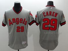 http://www.xjersey.com/angels-29-rod-carew-grey-flexbase-jersey.html ANGELS 29 ROD CAREW GREY FLEXBASE JERSEY Only $35.00 , Free Shipping!