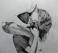 dibujos de amor a lapiz faciles de hacer paso a paso para