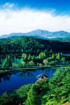 Kyongju, South Korea. So many historical sites in this remote city that I remember