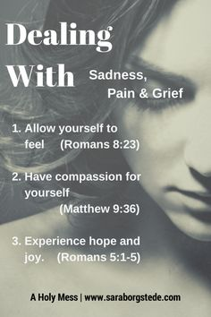 How to deal with sadness and find hope. In the link, click on the podcast to listen to how to find compassion for sadness and experience hope and joy.