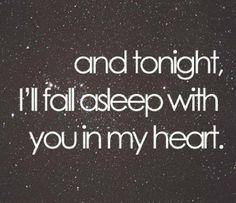 Every night.