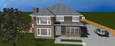 House Plan chp-54957 at COOLhouseplans.com