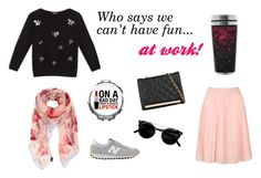 """""""Casua """"Friday""""!"""" by tinita-sjm on Polyvore featuring Max&Co., Topshop, New Balance, ALDO and Furla"""