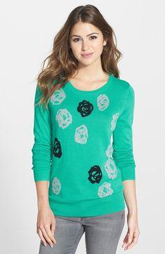 Halogen® Crewneck Sweater (Regular & Petite) available at #Nordstrom