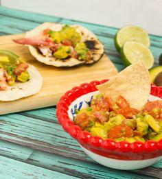 Lobster Tacos with Avocado Salsa