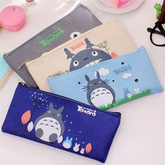 Cute Kawaii Fabric Pencil Case Lovely Cartoon Totoro Pen Bags For Kids Gift School Supplies Free Shipping #>=#>=#>=#>=#> Click on the pin to check out discount price, color, size, shipping, etc. Save and like it!