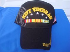 Navy Veteran Twill Sandwich Hat