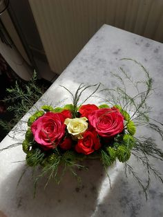 Art floral ROSE DU JARDIN
