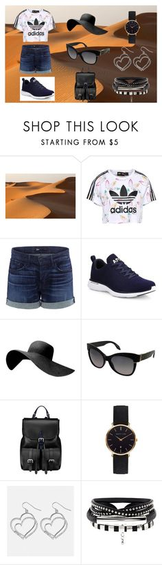 """""""Visit to the Desert"""" by goyalshreya ❤ liked on Polyvore featuring adidas Originals, 3x1, Athletic Propulsion Labs, Roberto Cavalli, Aspinal of London, Abbott Lyon and Avenue"""