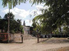 Derelect hacienda  http://writingfrommerida.com/2013/01/14/014-hacienda-uayalceh-depeon/