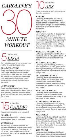Caroline Wozniacki's Workout.