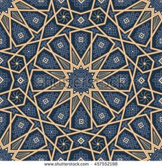 Find Islamic Seamless Oriental Vintage Pattern Abstract stock images in HD and millions of other royalty-free stock photos, illustrations and vectors in the Shutterstock collection. Thousands of new, high-quality pictures added every day. Motifs Islamiques, Islamic Motifs, Islamic Art Pattern, Persian Motifs, Pattern Images, Pattern Art, Abstract Pattern, Arabian Pattern, Motif Arabesque