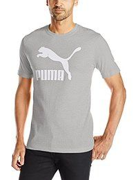 #PUMA | #Men's Archive #Life T-#Shirt: 100% Cotton Made in US Machine Wash Short-sleeve #t_shirt featuring single-color logo at front and…